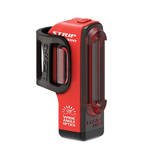 Lezyne Strip Drive Pro Rücklicht, LED, wiederaufladbar, USB, Unisex, Erwachsene, Rot, Einheitsgröße