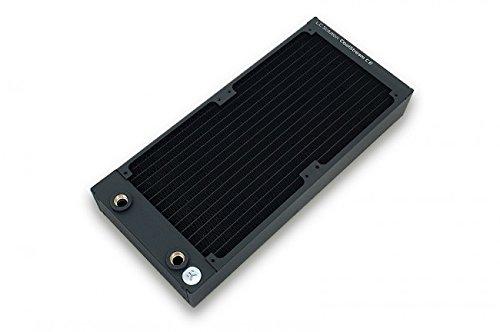 EK Water Blocks EK-CoolStream CE 280 (Dual) Schwarz - Hardwarekühlungszubehör (145 mm, 320 mm, 45 mm, 1,12 kg)
