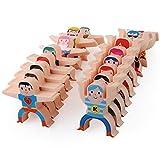 Juegos de apilamiento para el cerebro de juegos de apilamiento de madera Hércules juguetes acrobáticos de equilibrio de bloques de juegos para niños pequeños juguetes educativos para niños