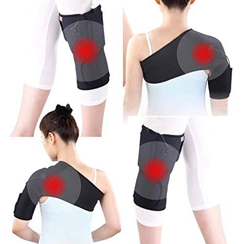 Heatingpad Wärmetherapie - für linke Schulter Größe S/M - Schmerzen Wärmekissen Heizkissen Pad Pflaster Wärm-Flasche Muskelverspannung Heizdecke Unterwegs & Zuhause