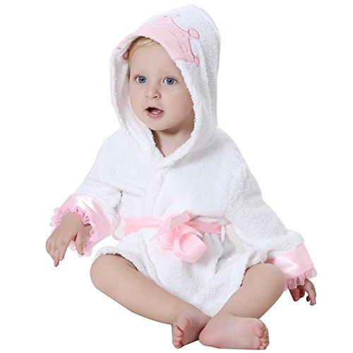 DINGANG® Bebé Albornoz con capucha