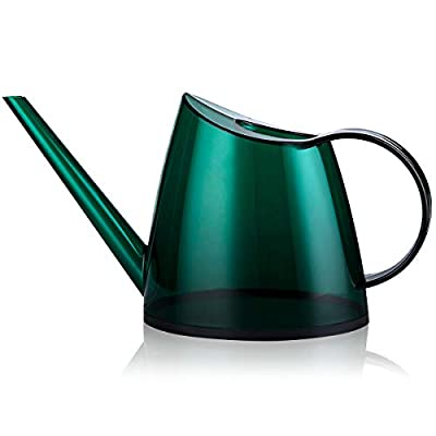 Fusolo Watering Can Long Spout Watering Kettle Small Watering Pot for Indoor & Outdoor Watering Plants and Potted Flowers 47oz (1.4L, Green)