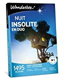 Wonderbox – Coffret Cadeau noel - NUIT INSOLITE EN DUO – 1440 week-ends insolites...