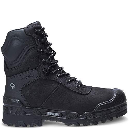 "Wolverine Warrior Puncture Resistant CarbonMax 8"" Boot Men 10.5 Black"