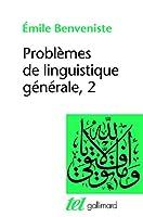 Problemes de linguistique generale 2