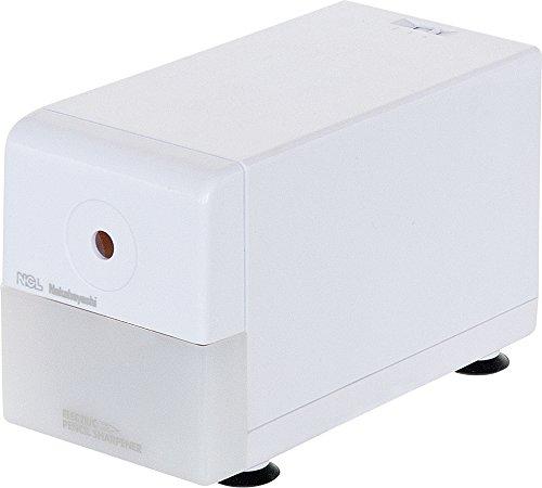 ナカバヤシ電動鉛筆削りスリムタイプホワイトDPS-211W