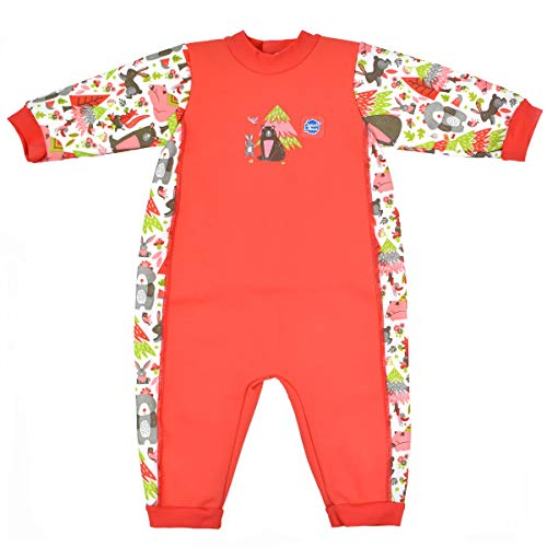 Splash About Babies Warm-in-One Wetsuit (Into The Woods, 6-12 Months)