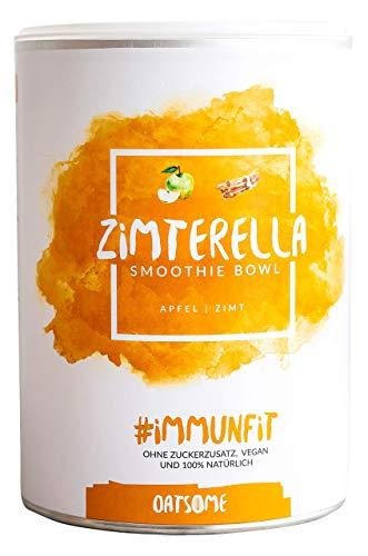 Zimterella - Smoothie Bowl - Nährstoff Frühstück mit 100% Natürlichen Zutaten & ohne Zusatzstoffe und raffinierten Zucker - Lange satt mit nur 200 kcal - 400g
