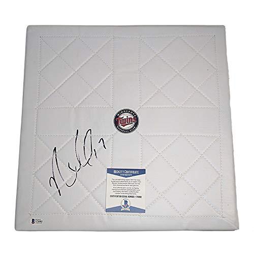 Nelson Cruz Autographed Signed Minnesota Twins Full Size Baseball Base Beckett BAS Authentication
