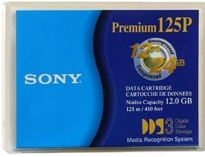 10 pack of Sony Premium National products 125P 12GB 4mm Comp Albuquerque Mall DGD125P Native 24GB