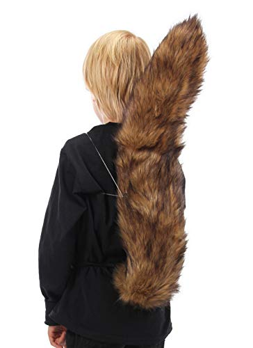elope Large Squirrel Costume Tail for Adults and Kids