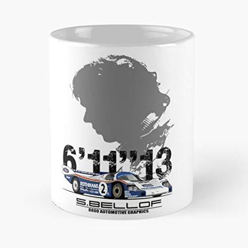 5TheWay Mug Rburgring N Stefan Bellof Best 11 oz Kaffeebecher - Nespresso Tassen Kaffee Motive