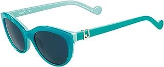 Liu Jo Oval LJ3600S Mint Sunglasses for Girls 49-18-130mm