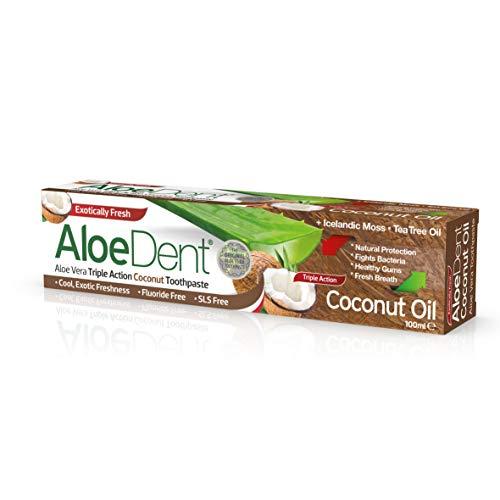 aloedent HUILE NOIX DE COCO dentifrice