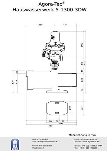 Agora-Tec® AT-Hauswasserwerk-5-1300-3DW - 4