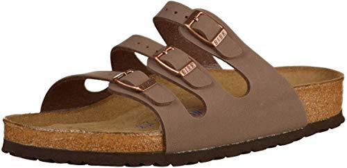 Birkenstock Women's Florida Soft Footbed Mocha Birkibuc Sandal (39 M EU/ 8-8.5 M...
