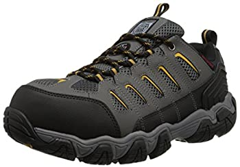 Skechers for Work Men s Blais Hiking Shoe Dark Gray 10.5 M US