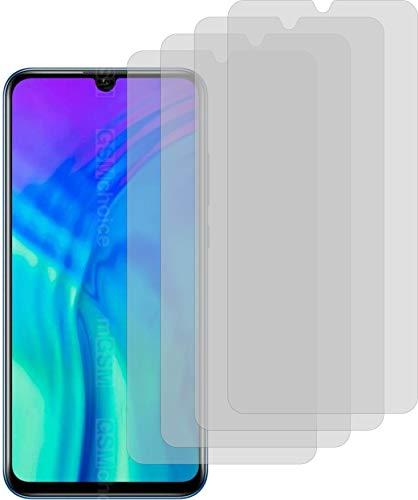 4X matt Schutzfolie für Honor 20 Lite HRY-LX1T Displayschutzfolie Bildschirmschutzfolie Schutzhülle Displayschutz Displayfolie Folie