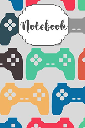 Game Controller Notebook | Perfect Gift for Video game Lover | Cute Classic Notebook Planner Ruled Line Journal with Blank Pages | Size 6 x 9 120 pages: Notebook Planner Ruled Line Journal