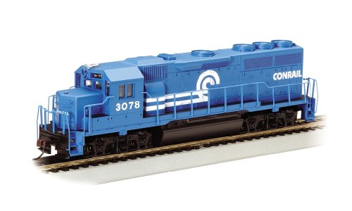 Bachmann Industries EMD GP40 Locomotive Conrail #3078 HO Scale Train Car