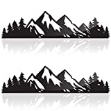 Camping Stickers, Mountain Stickers Outdoor Stickers or Adventure Stickers, 7 Inches, Hiking Sticker or Mountain Decal...