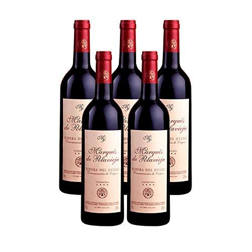 Vino Tinto Marques de Polavieja Cosecha de 75 cl - D.O. Ribera del Duero - Bodegas Williams & Humbert (Pack de 5 botellas)