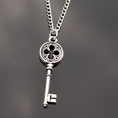 5starwarehouse® verzilverde sleutelhanger vintage sieraden cadeau voor hem haar voorraad vulmiddel A359