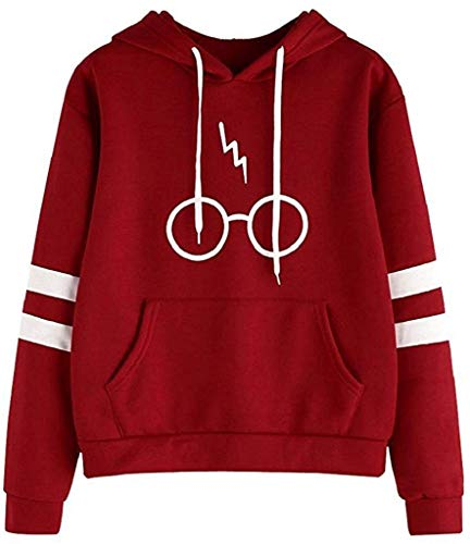 Sudaderas con capucha de entrenamiento - Manga Larga - Gafas de Harry
