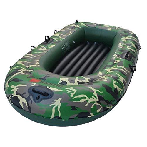 Challenger Kayak - Aufblasbares 2-Personen-Kajakset Mit Schlauchboot, Zwei Aluminiumrudern Und Leistungsstarker Luftfußpumpe - Angler- Und Freizeit-Angelkajak (Size : 3 People)