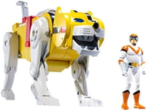Mattel Gelb Lion and Hunk Voltron Defender of The Universe Actionfiguren-Set