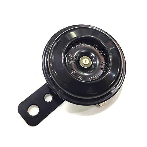 Universal Motorcycle Electric Horns Waterproof Round Loud Speaker 12V 1.5A 105db small horn for...