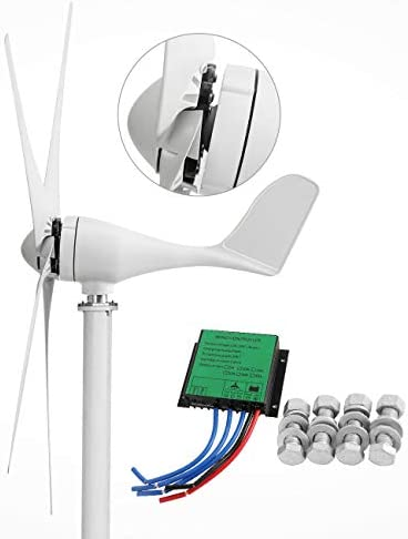 Dyna Living Wind Turbine Generator 500W DC 12V Wind Turbine 5 Blade Low Wind Speed Starting product image