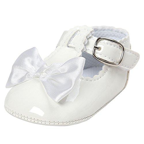 Nyuiuo Bebé Bowknot Princess Zapatos De Suela Blanda Zapatillas De Deporte para Niños Niñas Romanas Planos Zapatos Casuales Zapatos Antideslizantes para Bebés Y Niños Pequeños