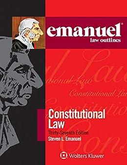 Emanuel Law Outlines for Constitutional Law by [Steven L. Emanuel]