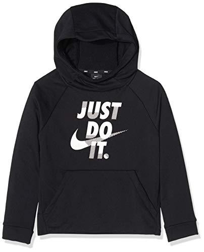 Nike Kinder Sweatshirt Dry Graphic, Black/White, S, BV3793