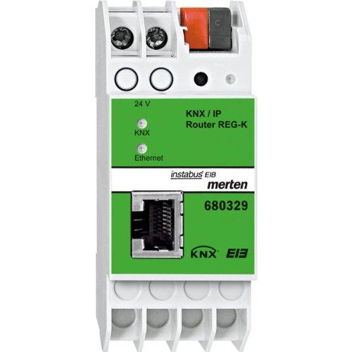 Merten 680329 KNX/IP-Router REG-K, lichtgrau