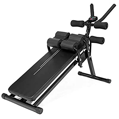 Core&Abdominal Trainers Abdominal Workout Machine, Whole Body Workout Equipment for Leg, Thighs, Buttocks, Rodeo, Sit-up Exercise at Home