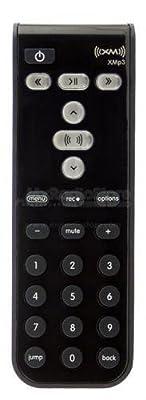 XM Satellite Radio Replacement XMp3 Remote Control  Black