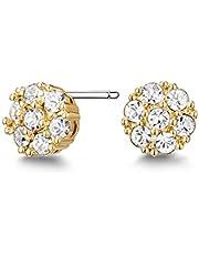 Mestige Whitney Women's Stud Earrings with Swarovski Crystals - MSER3852