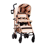 Designed by music and lifestyle star Christina Milian in a beautiful black frame and leopard print as part of her AMPM range named after her 2001 hit song AM to PM Stylish ultra-modern stroller, stunning complimentary colour handles, height adjustabl...