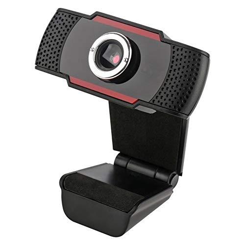 Wdonddonsxt Webcam HD 12 Megapíxeles De La Cámara USB 2.0 Webcam con Micrófono con Clip For El Ordenador Portátil Web CAM