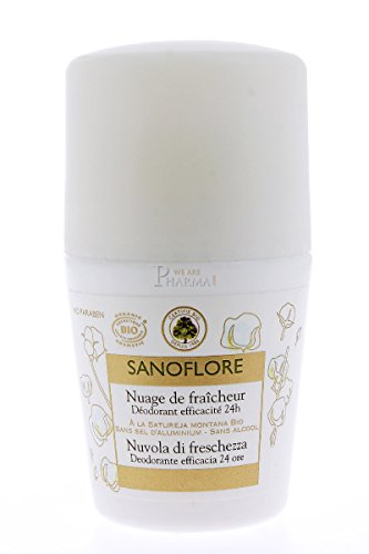 Sanoflore : Déodorant Bio Nuage de fraîcheur Efficacité 24h 50ml