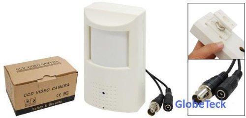 Sony - Protector de sensor de movimiento oculto PIR para cámaras de visión ocultas, lente de ángulo ancho CCD 480TVL