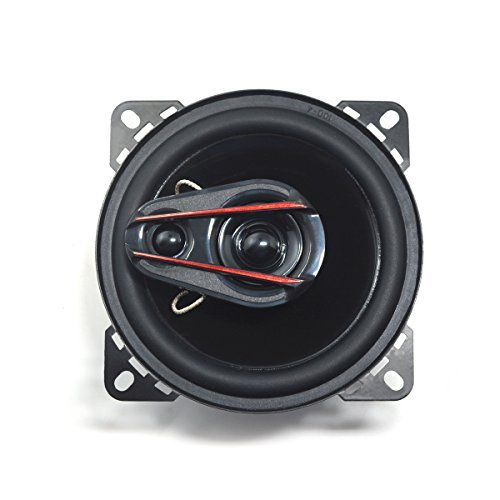 """3-Way Car Speaker with Great Bass, 4"""" Audio Speakers with Subwoofer, Full Range Pair Speakers - Soundvox"""