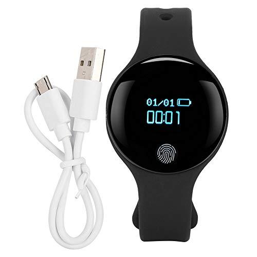 Da Dini Smartwatch Touch Pantalla Deportiva Pulsera Inteligente Banda De Silicona Muñeca Reloj Monitor De Ritmo Cardíaco Tlwd3plus