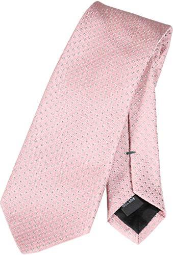 Tiger of Sweden Herren Krawatte Taisto mit Punktmuster rosa One size