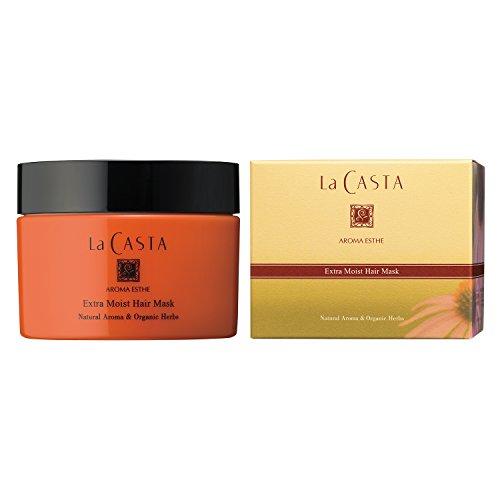 La CASTA (ラ・カスタ) アロマエステ エキストラモイスト ヘアマスク (ヘアトリートメント) 特に傷んだ髪に週1回の集中ケア