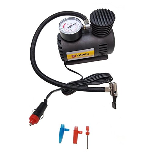 Mini-compressor 12 V met toebehoren 300 psi, luchtcompressor voor de auto, luchtpomp