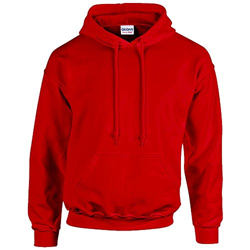 Gildan Heavy Blend Adult Hooded Sweatshirt, Cherry Red, X-Large