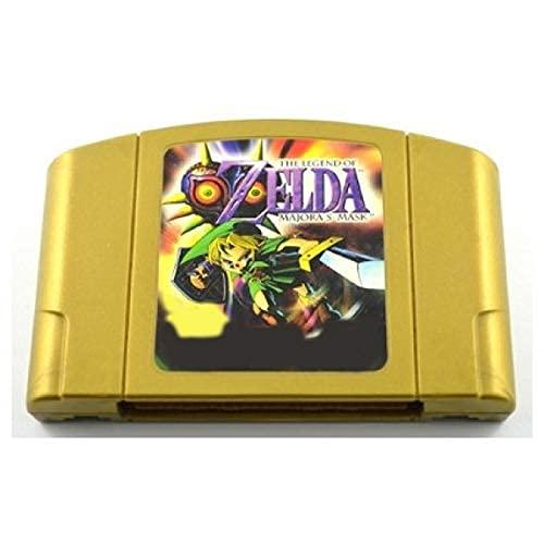 supreme N64 Max 86% OFF Video Gamess Game Cartridge - Zeldaed Majora's E Mask Legend